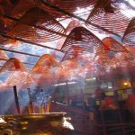 Incense Coils in Man Mo temple. Hong Kong - shutterstock_15827815_resize