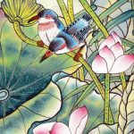 Vietnam-silk-painting
